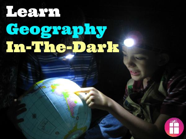 Learn Geography In-the-Dark #LightMyWay
