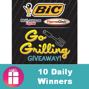 Sweeps Bic Go Grilling Giveaway