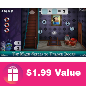 Free iTunes App: Mystery Math Town