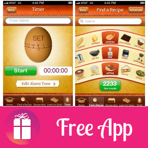 Free Android & iTunes App: Real Recipes