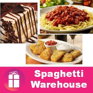 Free Birthday Meal at Spaghetti Warehouse