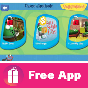 Free Android & iTunes App: VeggieTales