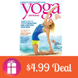 Deal $4.99 for Yoga Journal