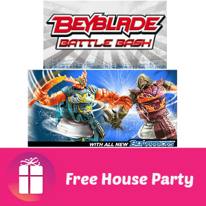 Free House Party: Beyblade Battle Bash