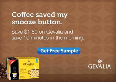 Freebie Gevalia Single-Serve Cups