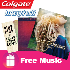 Freebie Fresh Beats for Summer from Colgate MaxFresh