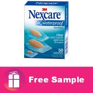Freebie Nexcare Waterproof Bandages
