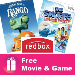 Freebie Redbox Movie and Game August 1