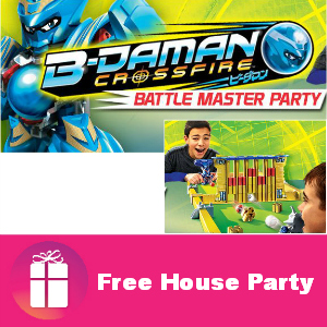 Free House Party: B-Daman Battle Master