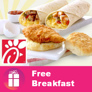 Freebie Breakfast at Chick-fil-A
