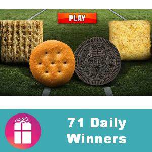 Sweeps Nabisco Big Snack Conference Giveaway
