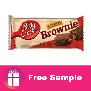 Free Sample Caramel Brownie Bars