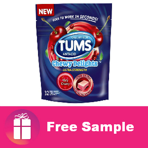 New Target Sample: Tums Chewy Delights