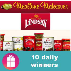 Sweeps Lindsay Olives Mealtime Makeover