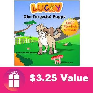 Free Children's eBook: Lucky The Forgetful Puppy