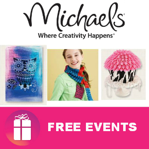 Free Events at Michaels in September
