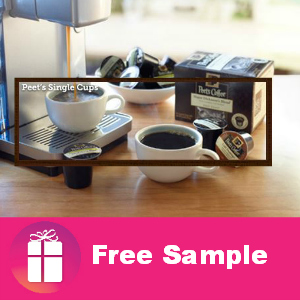 Free Peet's Coffee K-Cups