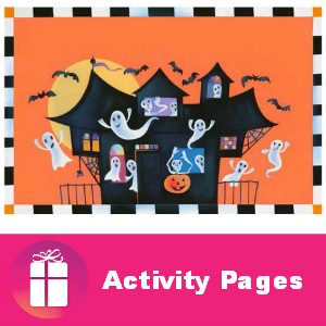 Freebie Personalized Halloween Activity Pages