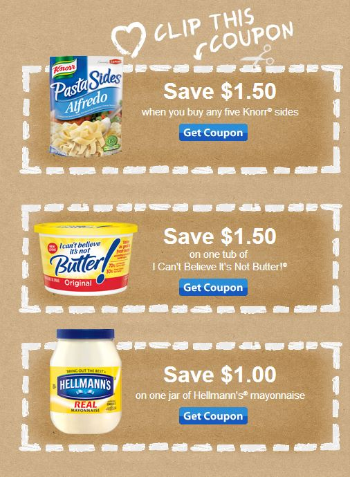 Unilever Printable Coupons