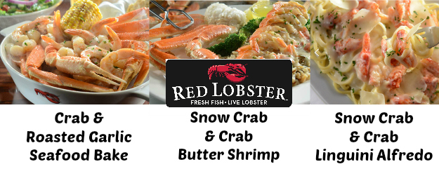 Popular Red Lobster Coupon Codes & Deals
