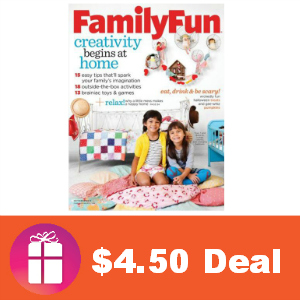 Deal $4.50 for Family Fun