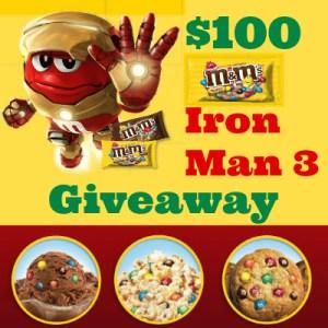 M&M's Iron Man 3 Giveaway