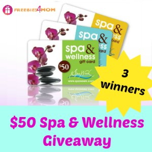 $50 Spa & Wellness Giveaway