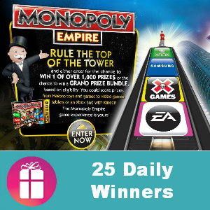 Sweeps Monopoly Empire Promotion