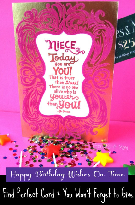 Happy Birthday Wishes On Time With Hallmark Birthdaysmiles Cbias Shop