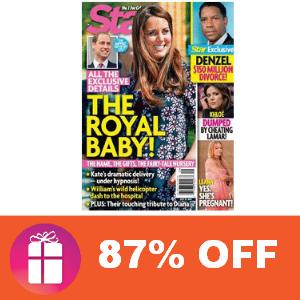 Deal Star Magazine 87% Off