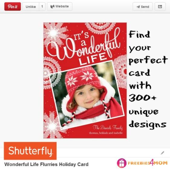 Wonderful Life Holiday Card
