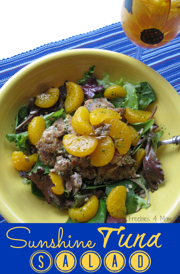 Healthy Lunch: Sunshine Tuna Salad with #OceanNaturals #cbias #shop