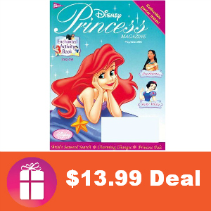 Deal $13.99 for Disney Princess Magazine
