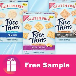 Free Full-Size Nabisco Rice Thins