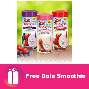 Free Dole Smoothie at Kroger