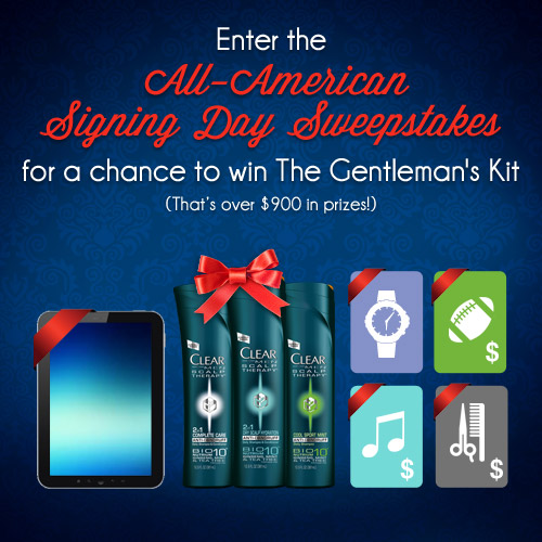 All-American Signing Day Sweepstakes