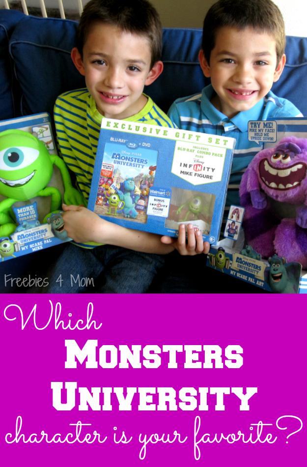 Which Monsters University Character is your favorite? #ScareEdu #cbias #shop