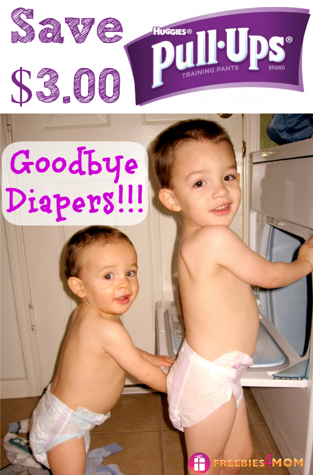 $3.00 Huggies Pull-Ups® Coupon