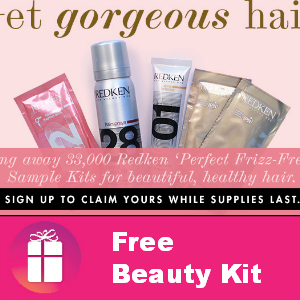 Free Redken Blowout Kit