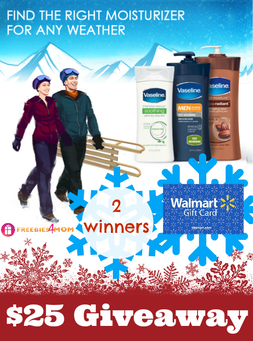 $25 Vaseline Weather the Weather Giveaway