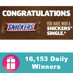 Sweeps Snickers Super Bowl Satisfaction Game