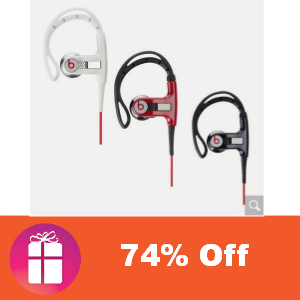 $51.99 PowerBeats by Dr. Dre (was $199.99)