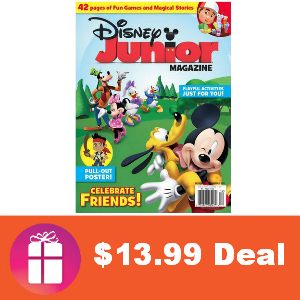 Deal $13.99 Disney Junior Magazine