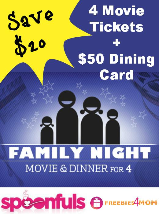 $50 Family Movie Night Deal