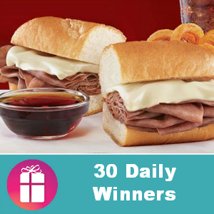 Sweeps Arby's French Dip & Swiss