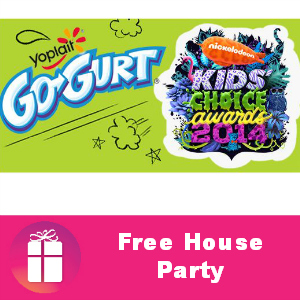 Free House Party: Go-GURT Kids' Choice Awards