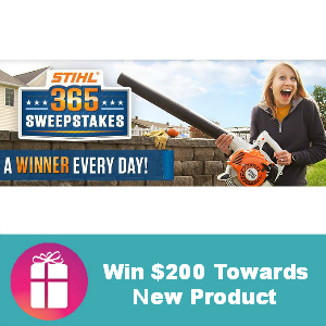 Sweeps Stihl 365 (Win $200 Towards Products)