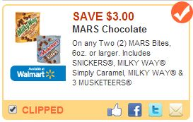 Save $3.00 on MARS Bites #EatMoreBites #shop