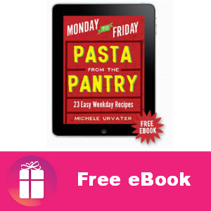 Free eBook: Pasta From The Pantry