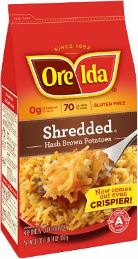 Ore-Ida Shredded Hash Brown Potatoes Coupon